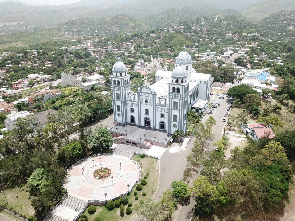 Basilica en Tegucigalpa Honduras